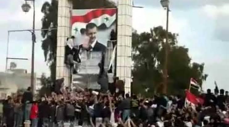 إنتفاضة درعا تتوسع.. وثوارها يصلون لرأس نظام الأسد