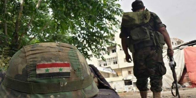 عنصر من جيش النظام ينتحر داخل قطعته العسكرية وهذا السبب