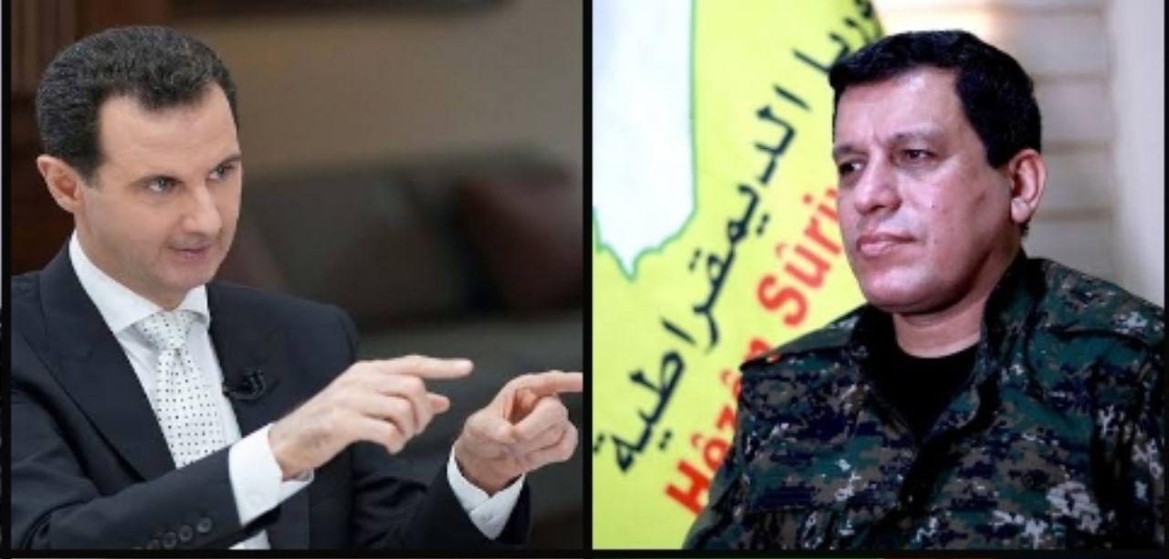 """روسيا تتهم """"قسد"""" بالتراجع عن التفاوض مع نظام الأسد على خلفية هذا القرار"""