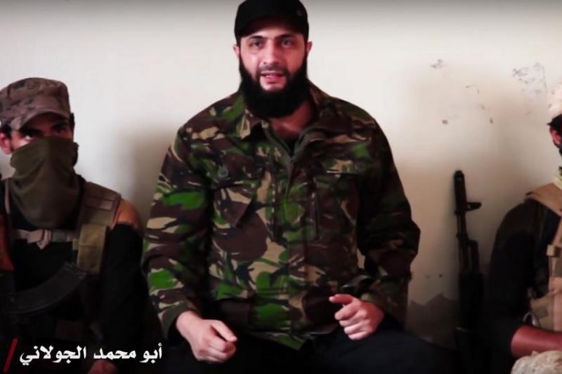 """قائد """"تحرير الشام"""" يكشف أسباب رغبة روسيا في حل الهيئة ومحاربتها.. ويستشهد بـ""""جيش الإسلام"""""""