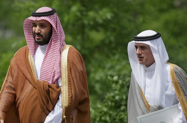 """""""الجبير"""" يكشف قرارًا صعبًا اتخذه محمد بن سلمان مع العدو اللدود للسعودية"""
