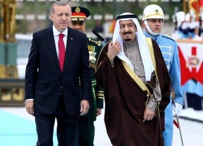 """تحرك مفاجئ من كبار مستشاري الديوان الملكي السعودي مع """"الملك سلمان"""" بشأن """"أردوغان"""""""