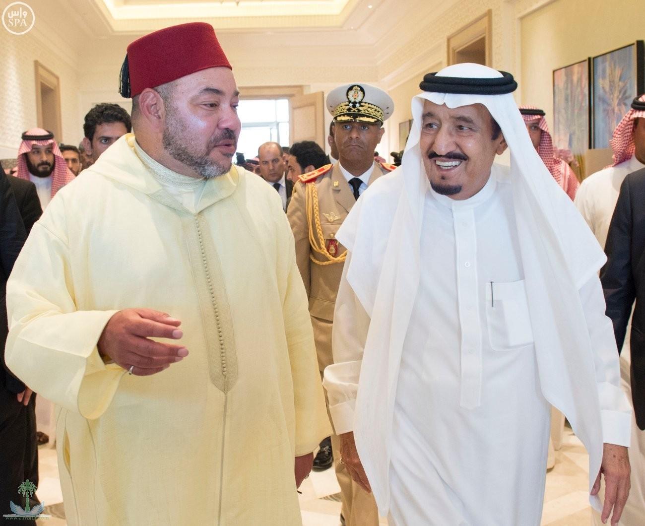 بعد انسحابه من التحالف ومعارضته مقاطعة قطر.. تصريح عاجل من ملك المغرب بشأن الملك سلمان