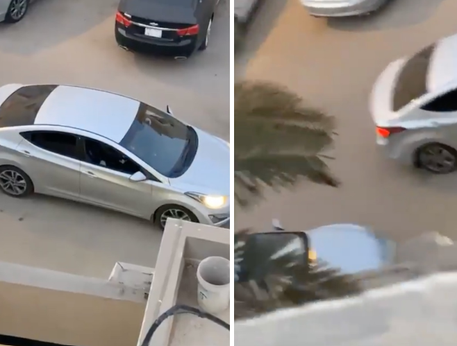 """السعودي """"فيصل مطلق نار عرقة"""" يستهدف زوجته وعائلتها وأبنائه بالرصاص في الرياض (فيديو)"""