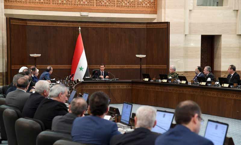 على وقع الأوضاع المشتعلة.. بشار الأسد يترأس اجتماعًا لحكومته ويصدر توجيهات عاجلة