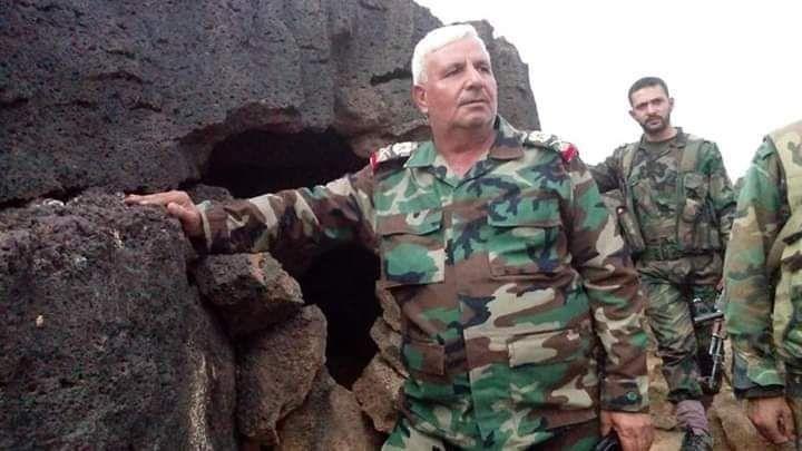 """طائرة مُسيّرة تركية تفتك بقيادي في """"جيش الأسد"""" أحرق ضريح عمر بن عبد العزيز (صورة)"""