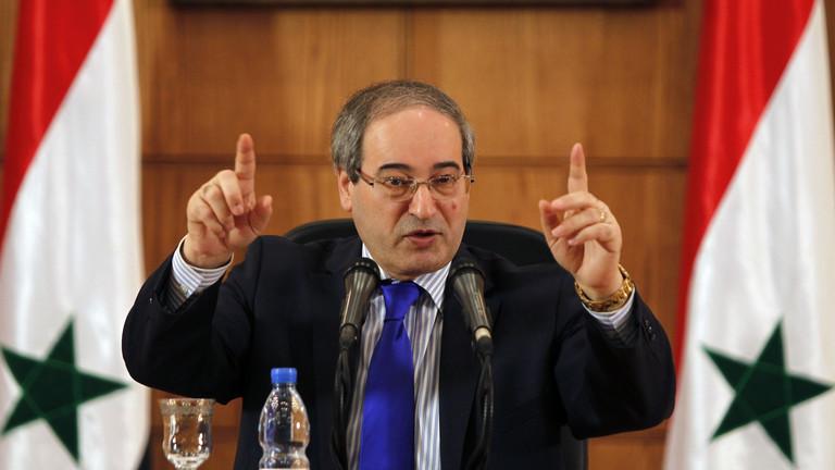 """نائب وزير خارجية """"نظام الأسد"""" يوجِّه رسالى إلى تركيا بشأن إدلب"""