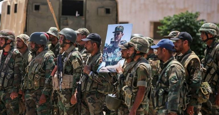 """شخصية مُقرَّبة من سهيل الحسن تكشف عن """"الخطة B"""" للنظام السوري"""