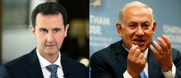 """""""نتنياهو"""" يطلق تصريحًا مرعبًا لـ""""بشار الأسد"""".. هذا ما سنفعله"""