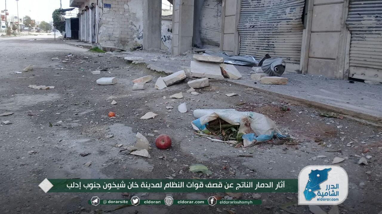 الجيش المصري يشارك ارتكاب مجزرة خان شيخون بريف إدلب (صورة)
