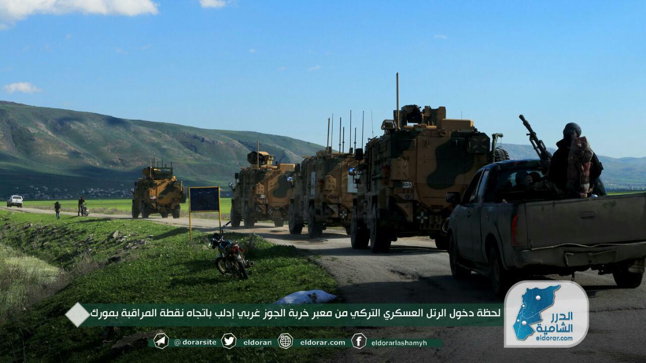 """بعد 400 قذيفة استهدفت مواقع مرور دورياتها.. أول ردّ تركي على """"نظام الأسد"""" في المنطقة العازلة"""