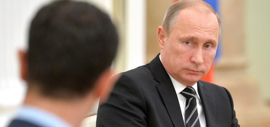 """قلق وارتباك يهزّ بشار الأسد ونظامه بعد إسقاط """"إيل-20"""".. """"الكرملين"""" يتحدث"""