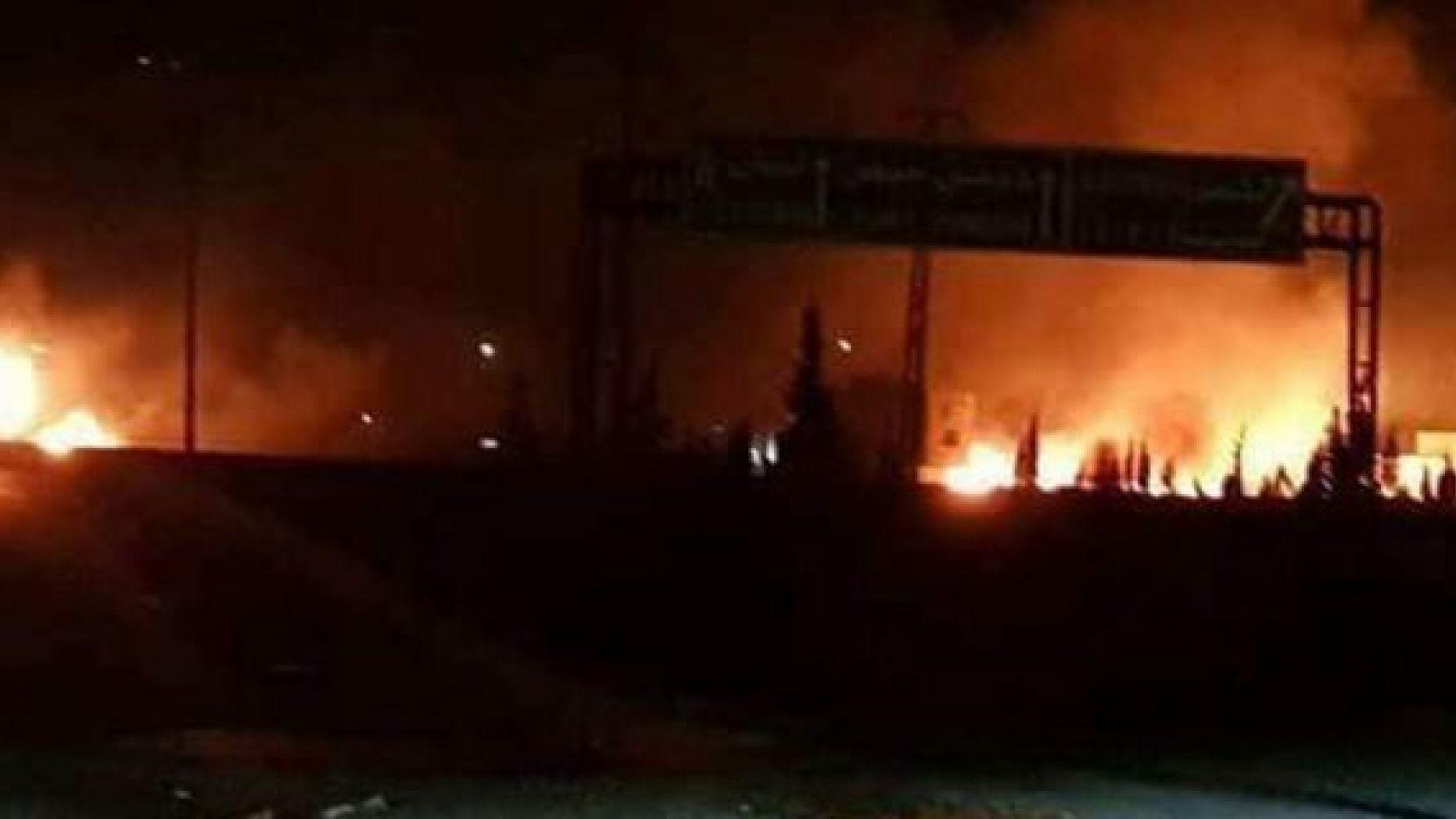 صور من الأقمار الصناعية تظهر حادثة مثيرة في القصف الإسرائيلي الأخير على دمشق