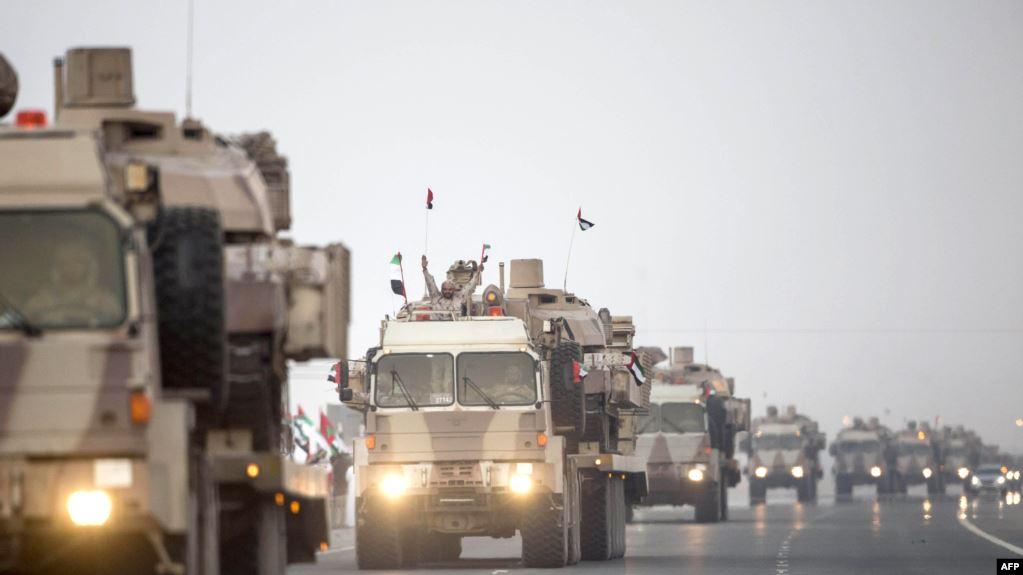 """بعد لقاء """"بن زايد"""" و""""بن سلمان"""".. إجراء عسكري مفاجئ للقوات الإماراتية في اليمن"""