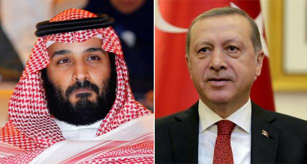"""موقع أمريكي يكشف ماذا يريد """"أردوغان"""" من محمد بن سلمان"""