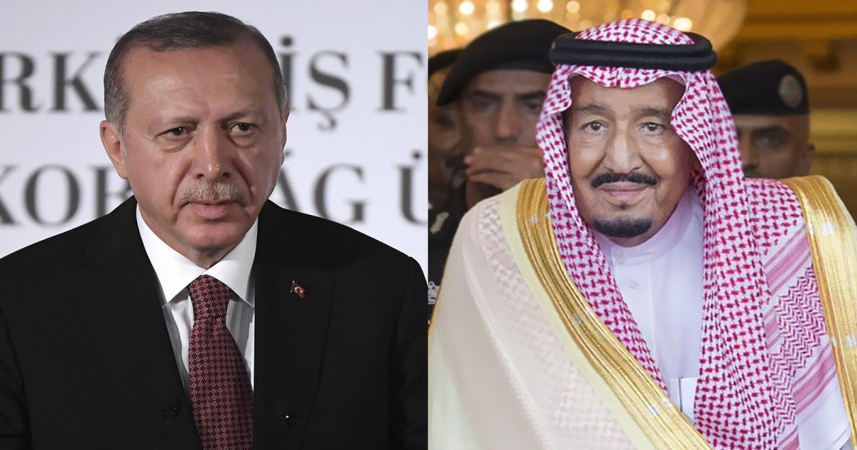 """بعد اتصال أردوغان والملك سلمان.. """"ميدل إيست آي"""" يكشف عن قرار سري صادم من السعودية ضد تركيا"""