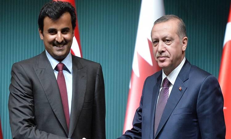 """تصريحات قطرية نارية بعد زيارة """"أردوغان"""" ولقائه بالأمير تميم بن حمد"""