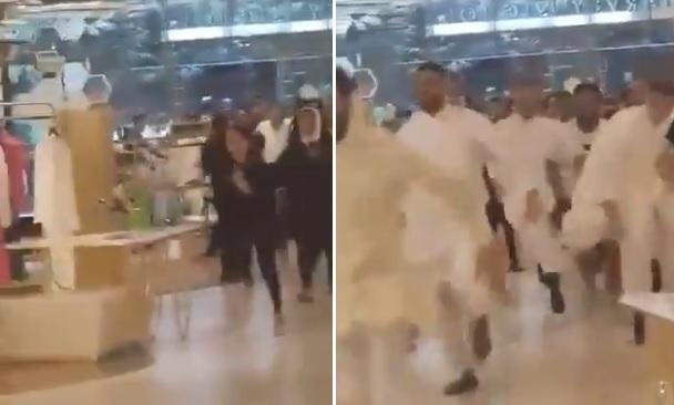 فتيات خالعات يركضن في الكويت وخلفهن شباب رافعين ثيابهم.. ماذا يحدث؟ (فيديو)