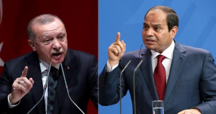 """""""أردوغان"""" يوقع أخطر مذكرة عسكرية تضعه في حرب مباشرة مع """"السيسي"""" و""""بن زايد"""""""