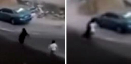 الحسناء الكويتية والسيارة الفارهة.. فسق وتحريض على الفجور مع شاب في قلب الشارع