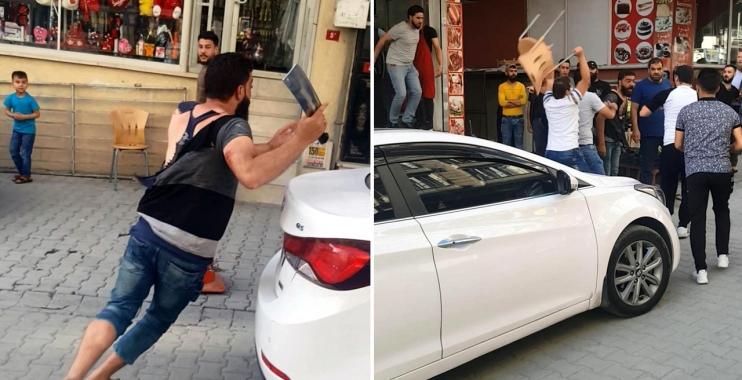 حرب شوارع جديدة.. شجار بالسواطير والسكاكين بين سوريين في إسطنبول (فيديو)
