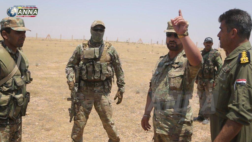سهيل الحسن يجري زيارة مفاجئة إلى ريف الرقة.. ومصادر تكشف السبب (صور)