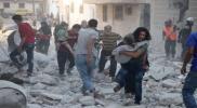 روسيا ترتكب مجزرة مروعة بحق النازحين جنوب إدلب