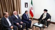 "شاهد.. ماذا قدم وفد ""حماس"" لمرشد إيران كهدية؟ (صور)"