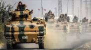 """وحدات """"المغاوير"""" بالجيش التركي تصل الحدود السورية مدججة بالمدرعات"""