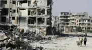 سكان حرستا يجبرون نظام الأسد على سحب قرار خطير يتعلق بقبور ضحاياهم