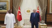 """في تطور جديد.. """"أردوغان"""" يتلقى رسالة من محمد بن زايد بعد استقبال شقيقه """"طحنون"""""""