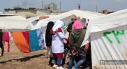 إصابة عشرات النازحين بحالات تسمم شمال إدلب