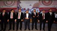 حفل زفاف جماعي لـ 80 شاب في تركيا وسوريا