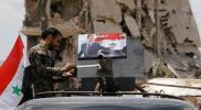 مظاهرات وعبارات مناهضة لنظام الأسد في درعا