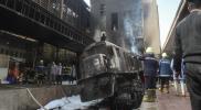 ارتفاع ضحايا حادثة قطار محطة مصر إلى 30 قتيلًا و50 مصابًا