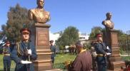 القوات الروسية تدشن نصباً تذكارياً لأحد طياريها قتل في سوريا
