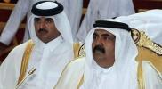 """شاهد.. تفاعل واسع مع ردة فعل أمير قطر """"الغير متوقعة"""" عند رؤية والده خلال إحدى المباريات (فيديو)"""