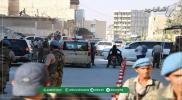 ثوريّون يستنكرون تصرفات مرافقة وفد التفاوض بتفريق المتظاهرين بإطلاق الأعيرة النارية بريف حلب