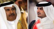 """شاهد.. أول ظهور لـ""""حمد بن جاسم"""" بعد أنباء وضعه قيد الإقامة الجبرية بقصره في قطر"""