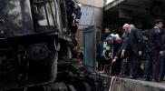 شاهد.. صورة أصابت المصريين بالاستياء عقب حادث محطة مصر