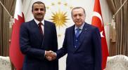 """رسالة من أمير قطر إلى """"أردوغان"""" بشأن حادثين مروعين"""
