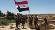 نظام الأسد يرفع العلم قرب الكيان الإسرائيلي