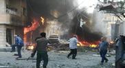 قتيلان و20 مصابًا بانفجار قرب كنسية في القامشلي (صور)