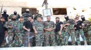 """بينما يقسم """"كوشنر"""" فلسطين.. ميليشيا """"درع الأقصى"""" تستعرض نفسها بمناطق """"نظام الأسد"""" (صور)"""