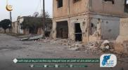 """""""الدرر الشامية"""" تتجوّل داخل """"كفرنبودة"""" بعد تحريرها.. شاهد ما فعله """"جيش الأسد"""" في المدينة (صور)"""