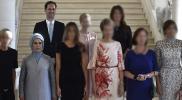 """ما السر وراء وجود """"رجل"""" بين زوجات رؤساء حلف """"الناتو""""؟"""