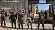 قوات الأسد تهرب أمام المتظاهرين المدنيين في ريف محافظة درعا