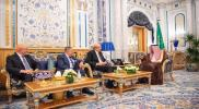 الملك سلمان يستقبل 3 رؤساء وزراء لبنانيين سابقين..وميقاتي يكشف عن خطوات سعودية قريبة تجاه لبنان