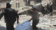 ارتفاع ضحايا القصف الجوي على مدينة حلب إلى 25 شخص