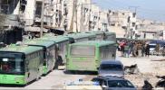 """بدء تنفيذ اتفاق اجلاء """"كفريا - الفوعة"""" مقابل مقاتلي """"مخيم اليرموك"""""""